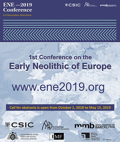 1st Conference on the EARLY NEOLITHIC of EUROPE